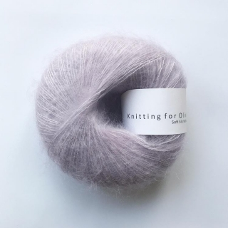 Soft Silk Mohair Unicorn Purple