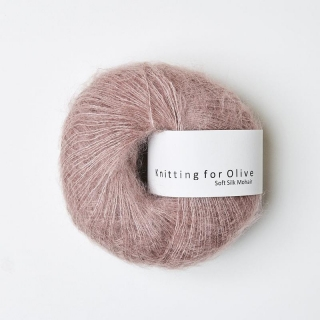 Soft Silk Mohair Dusty Rose