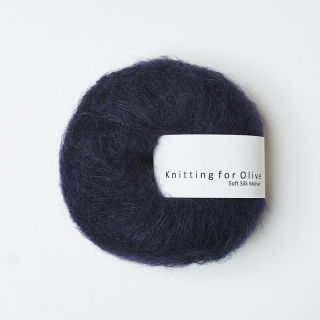 Soft Silk Mohair Midnight Blue