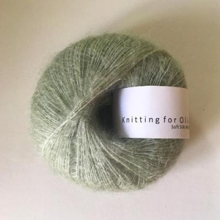 Soft Silk Mohair Dusty Artichoke